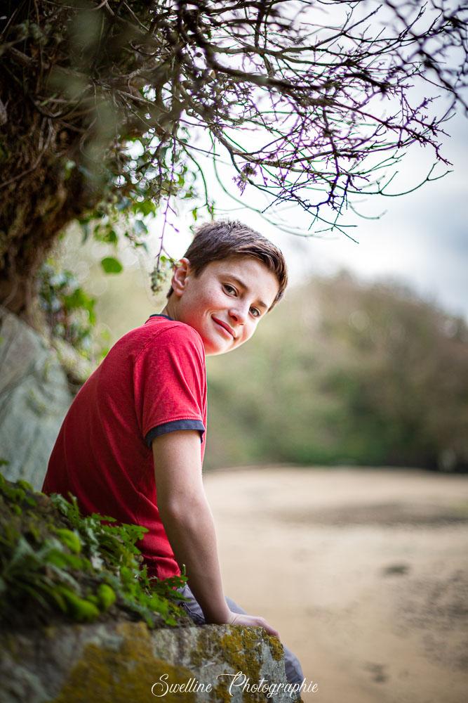 Photographie d'enfant en extérieur