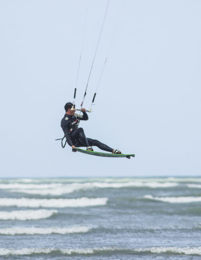 Shooting Kitesurf