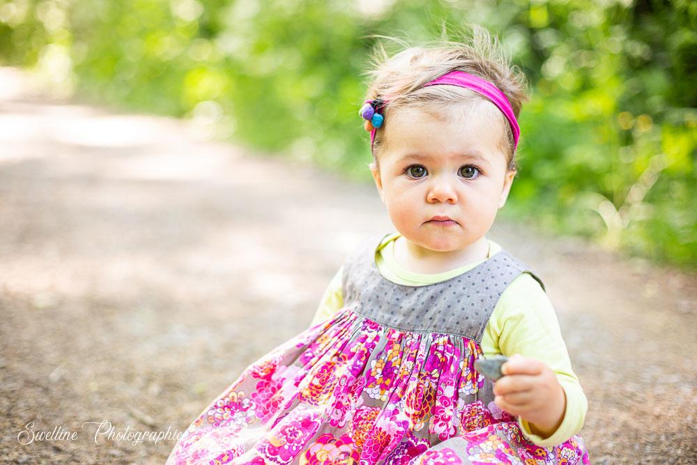 Photographie bébé en extérieur
