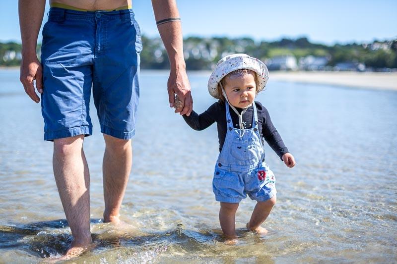 Photographe professionnelle Famille Enfant Saint michel en greve