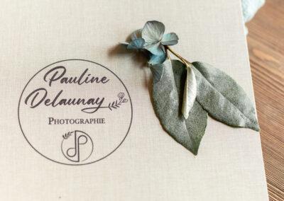 Couverture lin Livre photo luxe mariage - 30x30 - Pauline Delaunay Photographie (2)