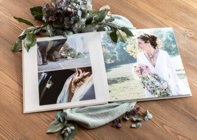 Livre photo luxe mariage - 30x30 - Pauline Delaunay Photographie