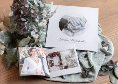 Livres photos souples mariage 22x22 et 13x13 - Pauline Delaunay Photographie 2