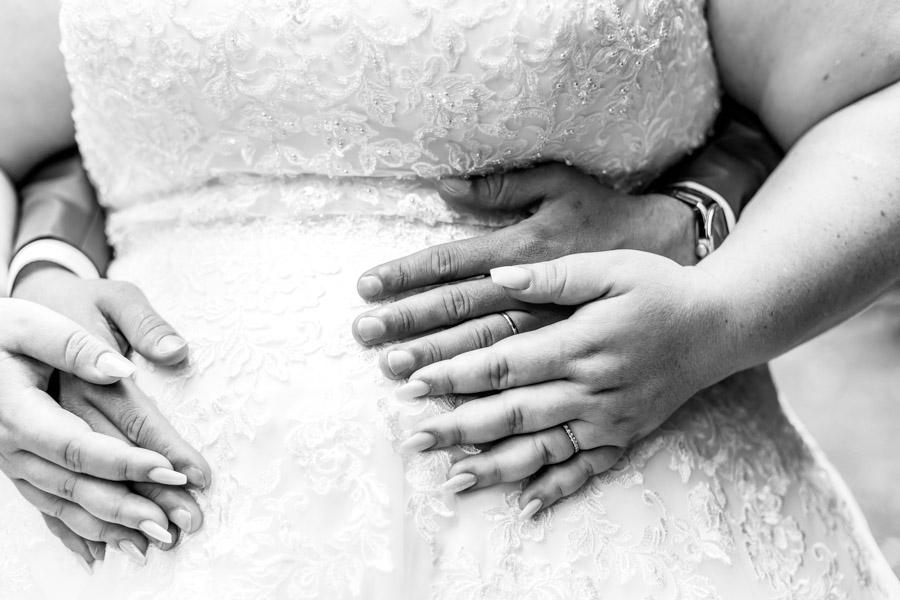 photo de couple, les mains
