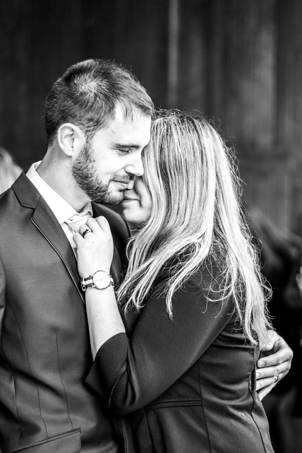 Photo de couple des invités du mariage