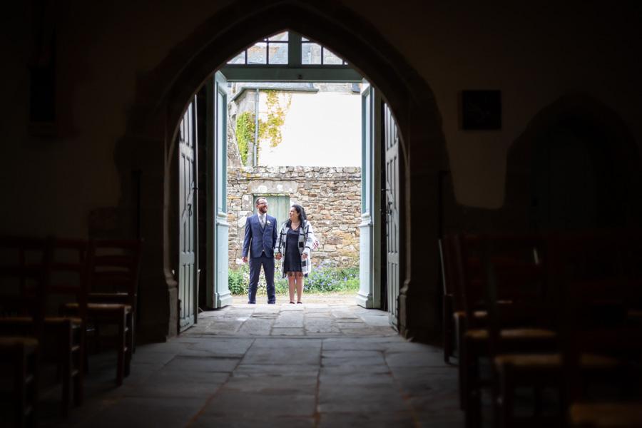 entrée du marié à l'église