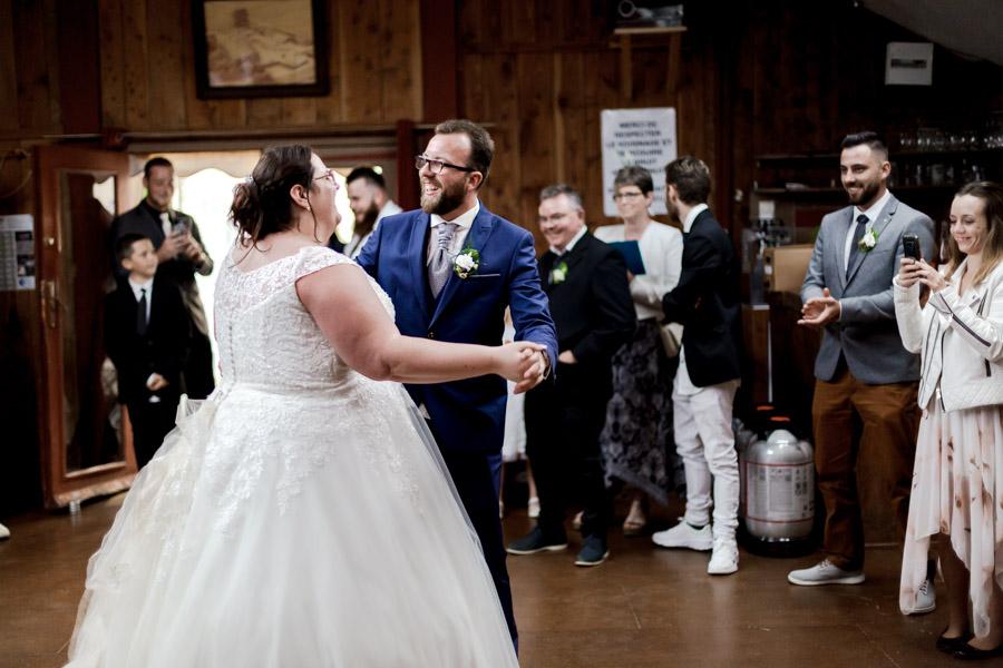 Ouverture de la soirée par la danse des mariés