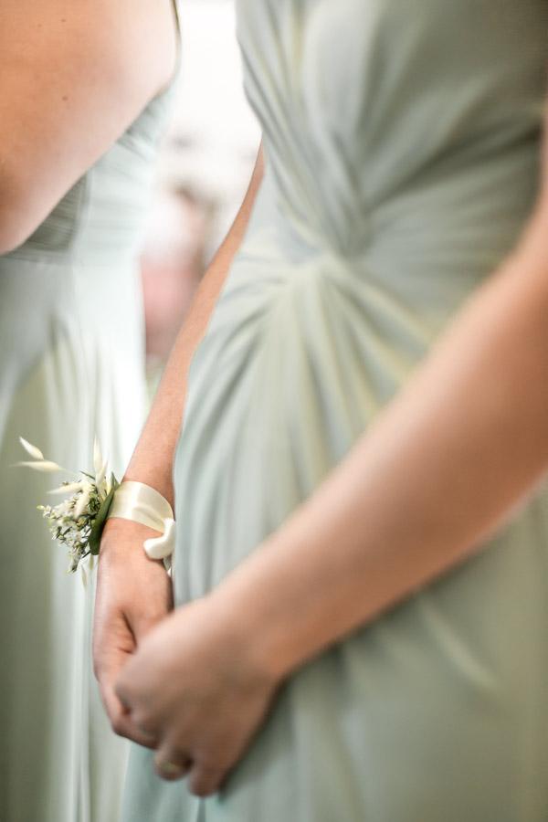 bracelet floral demoiselle d'honneur mariage lanmeur Plouigneau