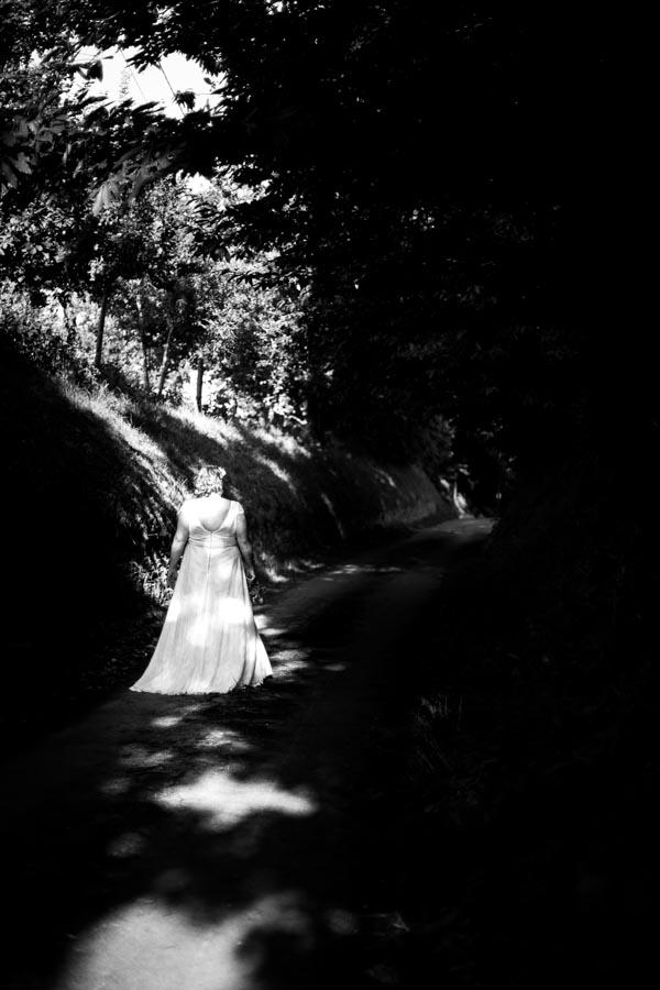 La mariée dans la lumière