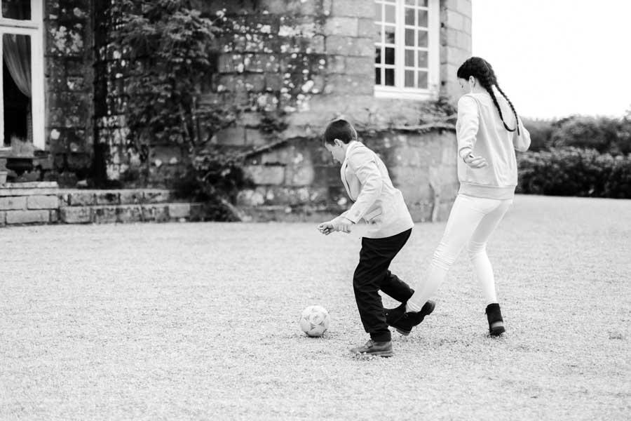 jeux des enfants mariage Chateau de Kergrist Ploubezre