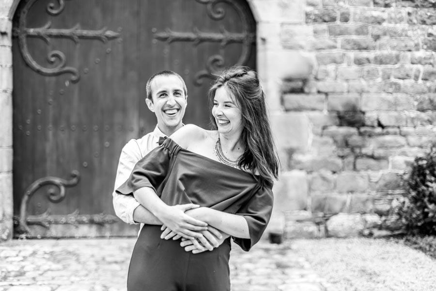 Couple d'invité mariage chateau de Rosanbo Lanvellec