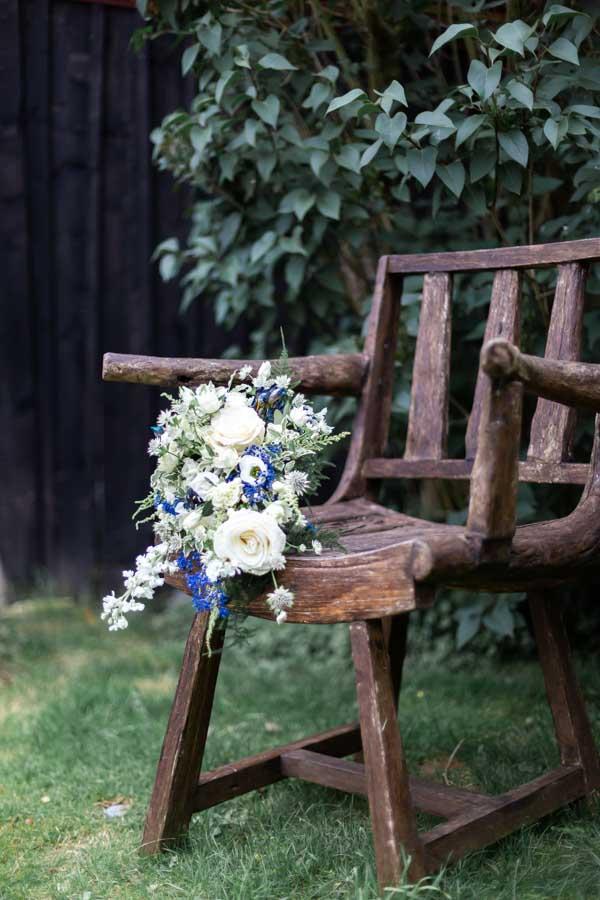 Bouquet mariée chic et champetre Plestin les greves