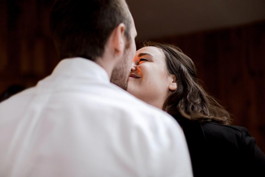 Photo de couple d'invités danse mariage plestin les grèves
