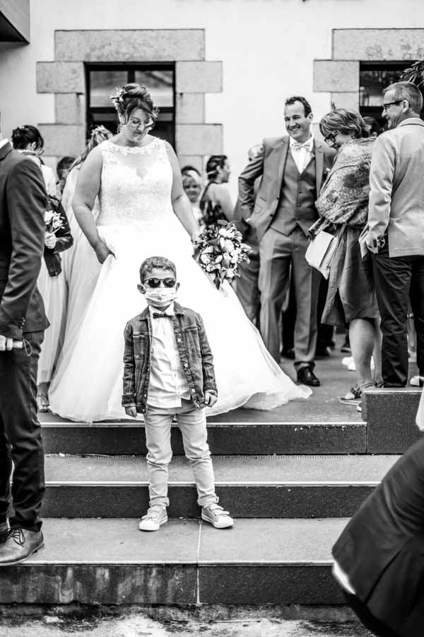 Rockstar enfant mariage Lanmeur